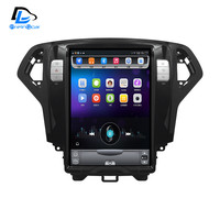 12.8 inch 4G Lte 32G ROM Vertical screen android multimedia video radio player for Ford mondeo 2007 2010 years navigation stereo