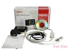 CONTEC Veterinary Pulse Oximeter Pulse Rate, SPO2 Portable Handheld CMS60C Monitor With Software