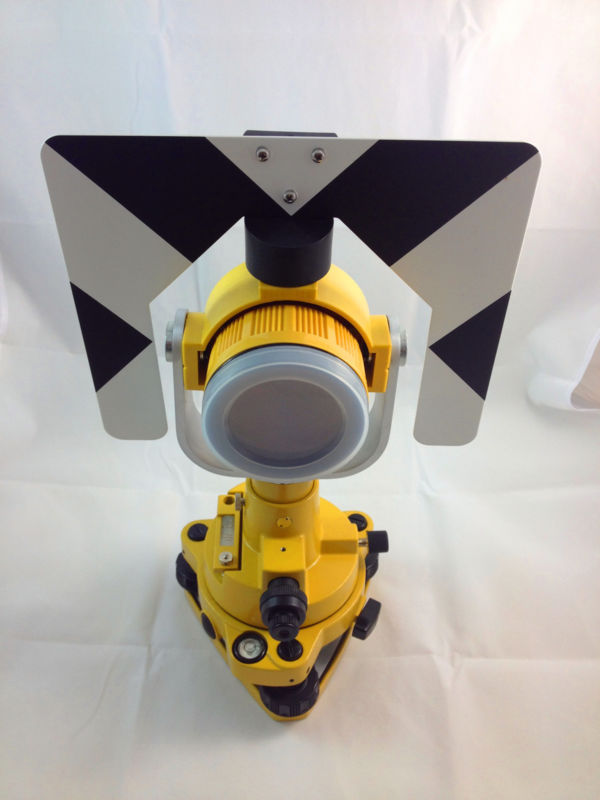 NEW SINGLE PRISM TRIBRACH SET SYSTEM FOR TOPCON TOTAL STATIONS SURVEYING new topcon gowin tks 202 total station for surveying 1 year warranty