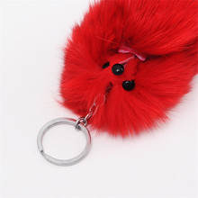 Fox Ball Key Chain