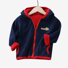 Kids Coat 2019 Autumn Winter Boys Jacket for Boys Children Clothing Hooded Outerwear Baby Boy Clothes 4 5 6 7 8 9 10 11 12 Year cheap Unini-yun Fashion COTTON Microfiber 19 8 Full Solid REGULAR Fits true to size take your normal size Heavyweight Outerwear Coats