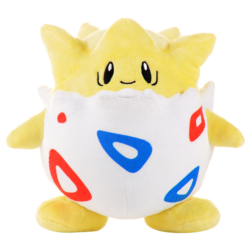 20cm Soft Togepi Plush Toys Hobbies Doll Stuffed Cotton Cute Animals Soft Peluche Toy Gift For Baby Children's Christmas