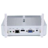 Безвентиляторный мини ПК i7 5550U i3 5005U настольный компьютер Celeron N3150 максимальная поддержка 16 ГБ Оперативная память VGA + HDMI