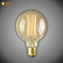 Fancy Lighting free shipping edison incandescent light bulb G95 Diameter 90*145mm E27 220V for pendant wall table lamp light цена 2017