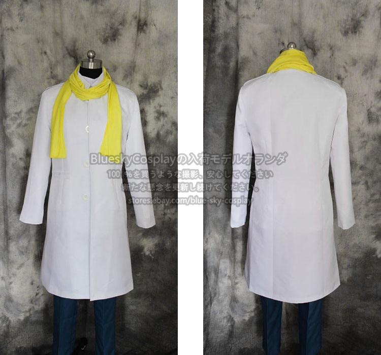 Dramatical Murder Clear Cosplay Costume  custom any size c00005
