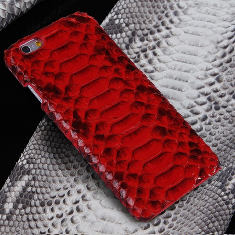 the latest db59d 032d0 US $59.0 |1pcs Luxury for iPhone 6 Plus Genuine Leather Python Skin Case  Snake Skin Back Cover for iPhone 6S Plus Mobile Phone Bag on Aliexpress.com  | ...