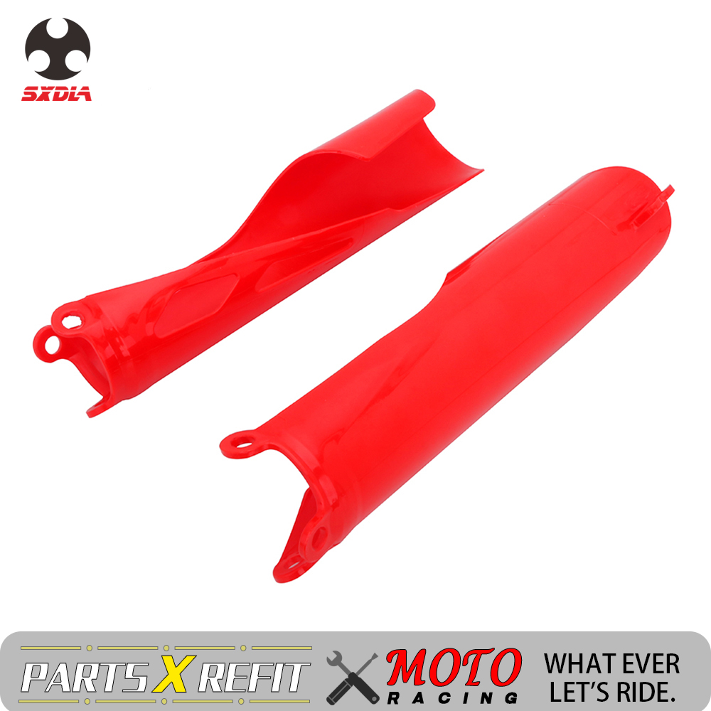 Front Fork Protector Shock Absorbing Wrap Cover Guard For <font><b>Honda</b></font> CRF250 CRF250R CRF450L CRF450R CRF450RX CRF450X <font><b>CRF</b></font> 250 <font><b>450</b></font> R L image