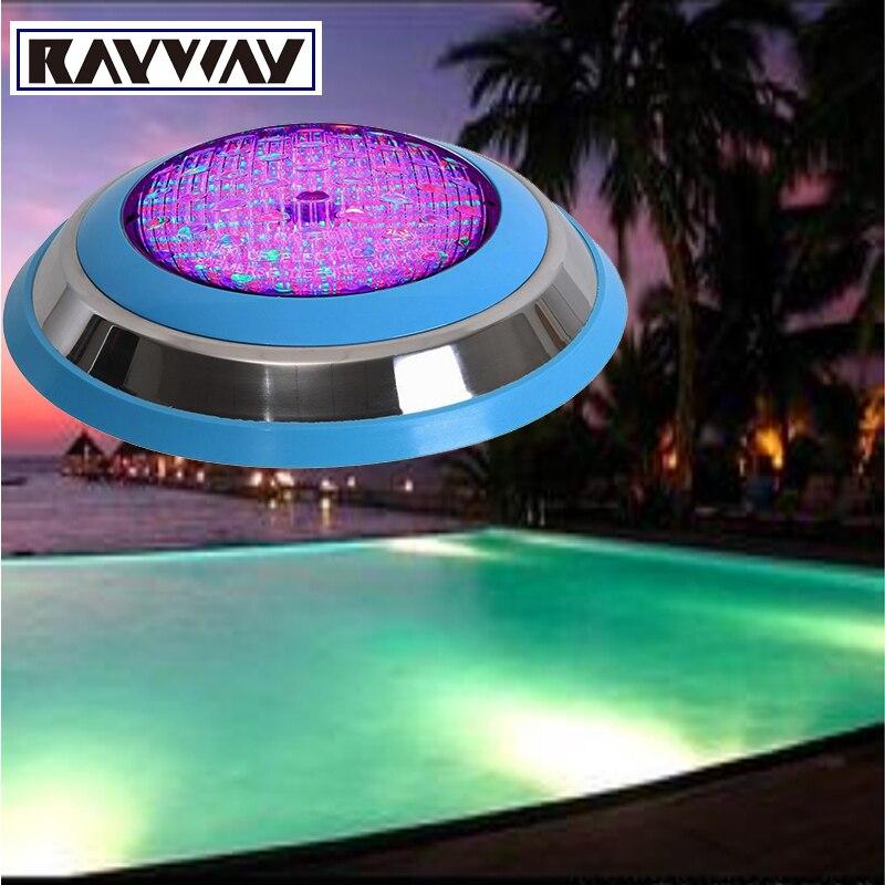 LED Swimming pool light 54W AC 12V RGB IP68 LED remote control...