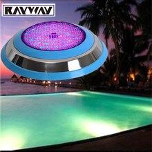 ПРИВЕЛО бассейн свет 54 Вт AC 12 В RGB IP68 СВЕТОДИОДНЫЙ пульт дистанционного управления подводные Лампы Наружное Освещение Пруд огни led piscina