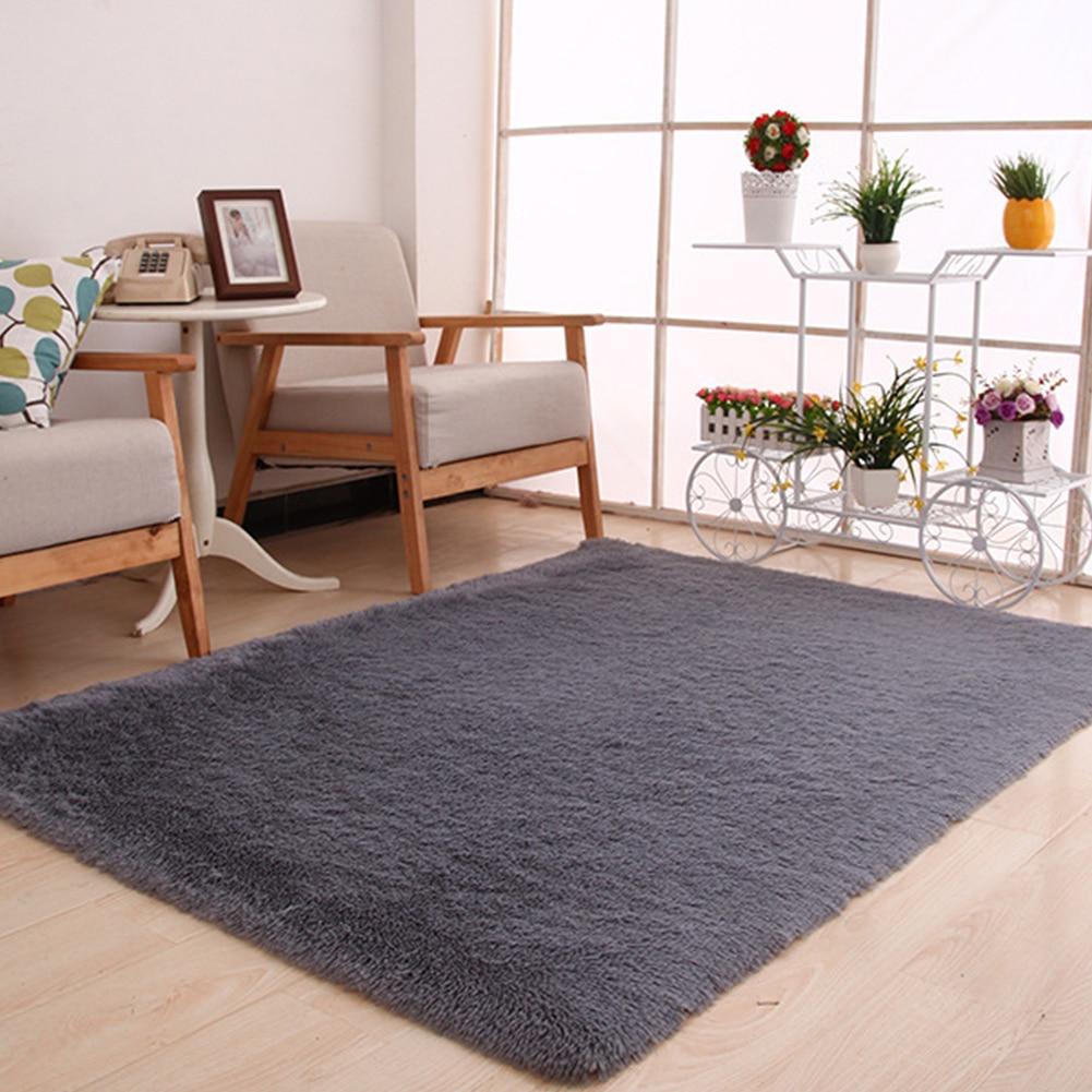 10 colores 120x160 cm alfombra suave gruesa grande peluda ...