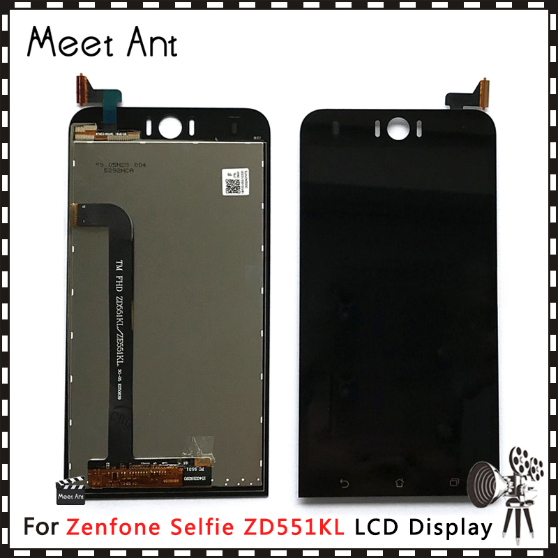 DHL 10Pcs/lot High Quality 5.5'' For <font><b>Asus</b></font> <font><b>Zenfone</b></font> <font><b>Selfie</b></font> <font><b>ZD551KL</b></font> Z00UD <font><b>LCD</b></font> Display Screen With Touch Screen Digitizer Assembly image