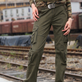 Free Army Brand Women Pants Cotton Mid Waist New Autumn Full Length Europe Style Plus Size Casual Straight Pants GK-929A