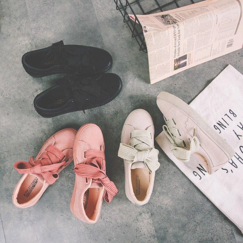 girls brand white shoes woman shoes comfortable ladies shoes new fashion casual platform spring women shoes sneakers women AK3