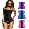 Esporte Trainer cintura cintos cintura das mulheres de borracha Latex cintura formação espartilhos underbust cinto de emagrecimento