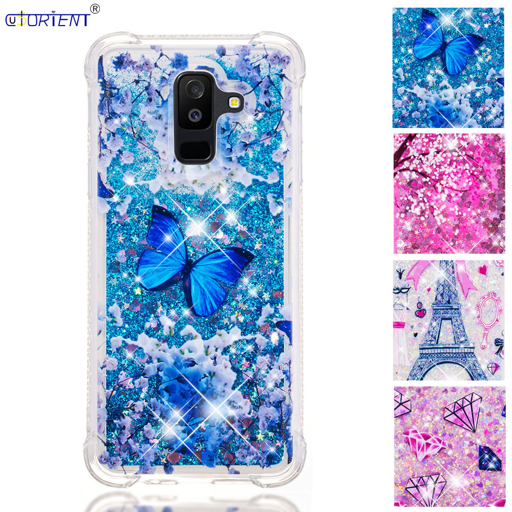 A6 Plus 2018 Dynamic Liquid Quicksand Shockproof Case Sm-a605fn/ds Sm-a605fn Silicone Bumper Cover Complete In Specifications Shop For Cheap Funda For Samsung Galaxy A6 Half-wrapped Case Cellphones & Telecommunications