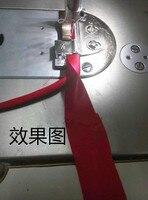 آلة الخياطة السيارة المسطحة التلقائي تطور درج الأذن أنبوب أسود القلب مجتذب مجتذب الرزمة