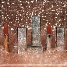 Brand Professional Lips Makeup Waterproof Long Lasting Pigment Nude Pink Mermaid Shimmer Lipstick Luxury
