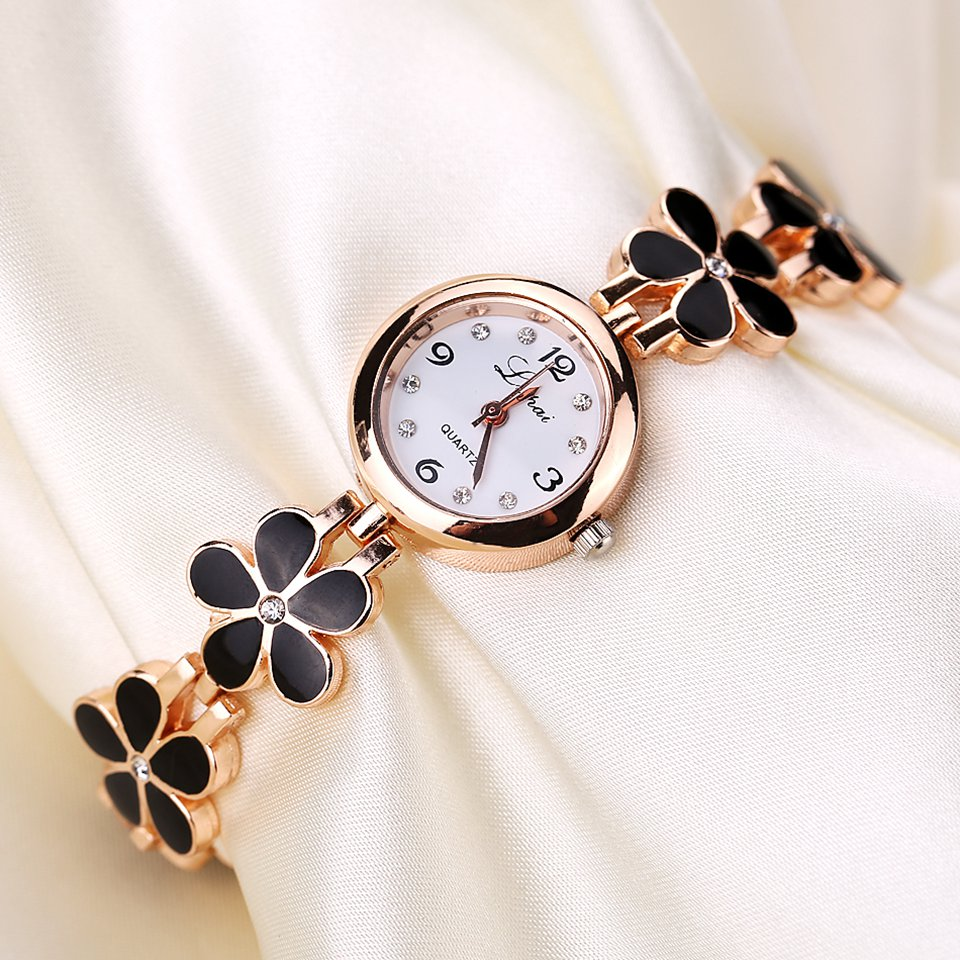 Bild von Lvpai Brand Luxury Crystal Gold Watches Women Fashion Bracelet Quartz Wristwatch Rhinestone Ladies Fashion Watch Dropshiping