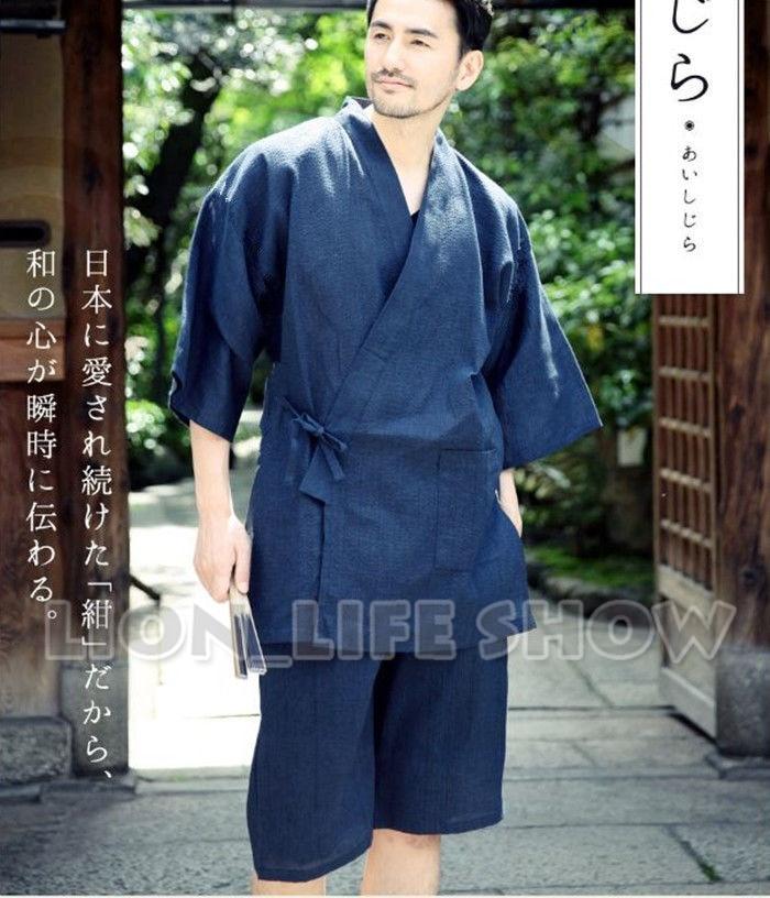 Summer Japan Women Batwing Sleeve Blue Floral Phoenix ...
