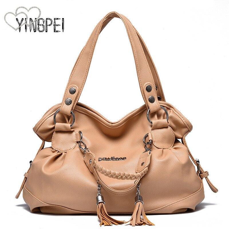 Women Bag Designer New Fashion Casual axelväska Lyxiga kvinnor - Handväskor - Foto 5