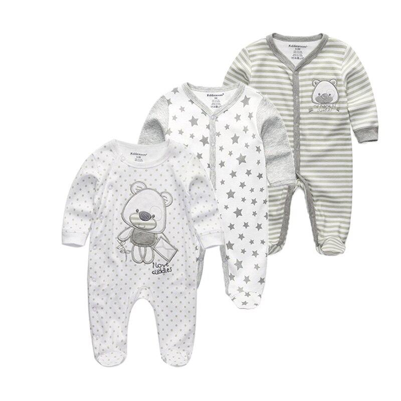 Mutter & Kinder 3 Teile/los Winter Weiche Baumwolle Baby Unisex Strampler Overalls Neugeborene Kleidung Lange Hülse Roupas De Bebe Infantis Jungen Kleidung Set