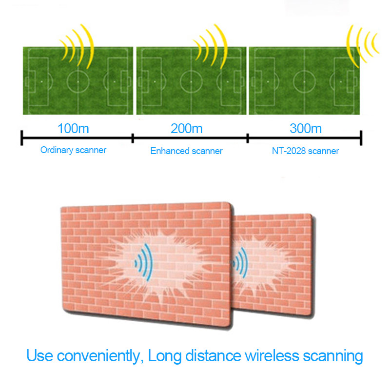 Scanners sem fio laser netum-2028 high Decode Capability : Code 32, standard Code 39, ean 128, msi, ean 8&13,