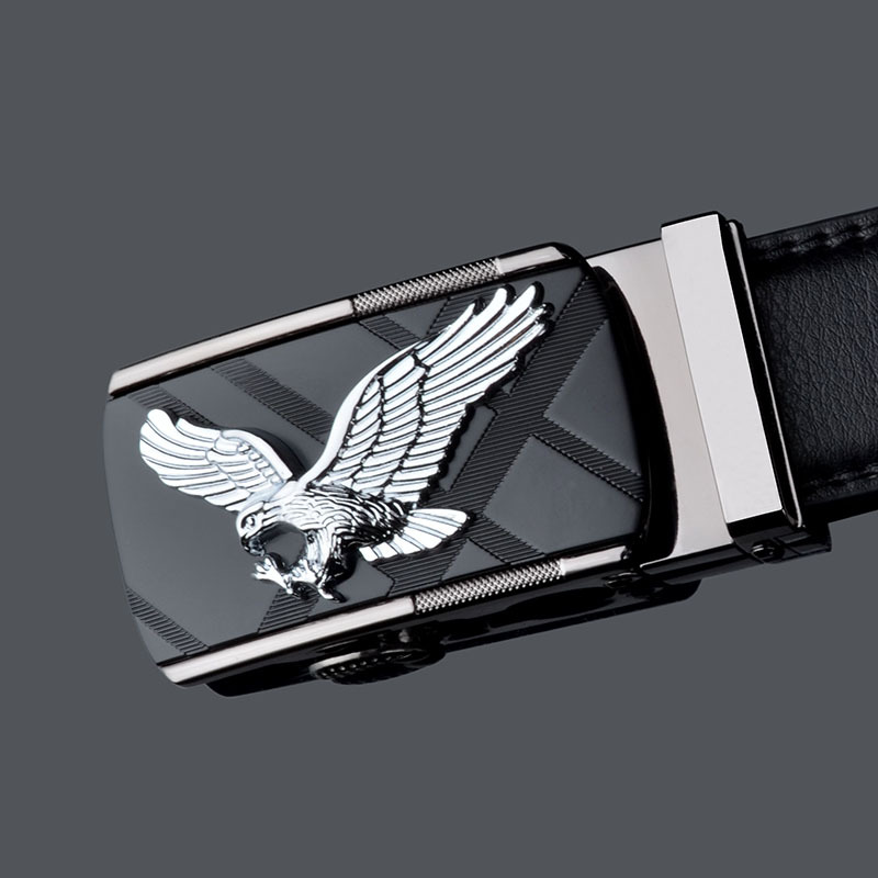 KWD Silver Eagle Metal Automatic Buckle Only Buckle