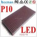 Leeman P10 1r из светодиодов модуль 16 * 32 P10 на открытом воздухе одноцветный светодиодный дисплей модуль красный / зеленый / синий / белый 320 * 160 мм водонепроницаемый