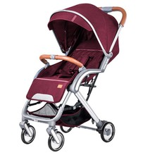 лучшая цена Lightweight Portable Folding Luxury Baby Strollers Hot Mom Baby Stroller Travel Pram On Plane Umbrella Stroller