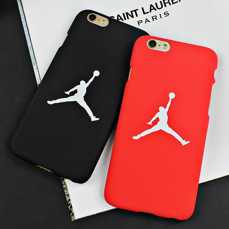 7 &7 Plus Fashion Flying Man Michael Jordan Frosted PC Hard Case For iphone 6 6s Plus 5/5s SE Back Cover Cases Fundas Capa