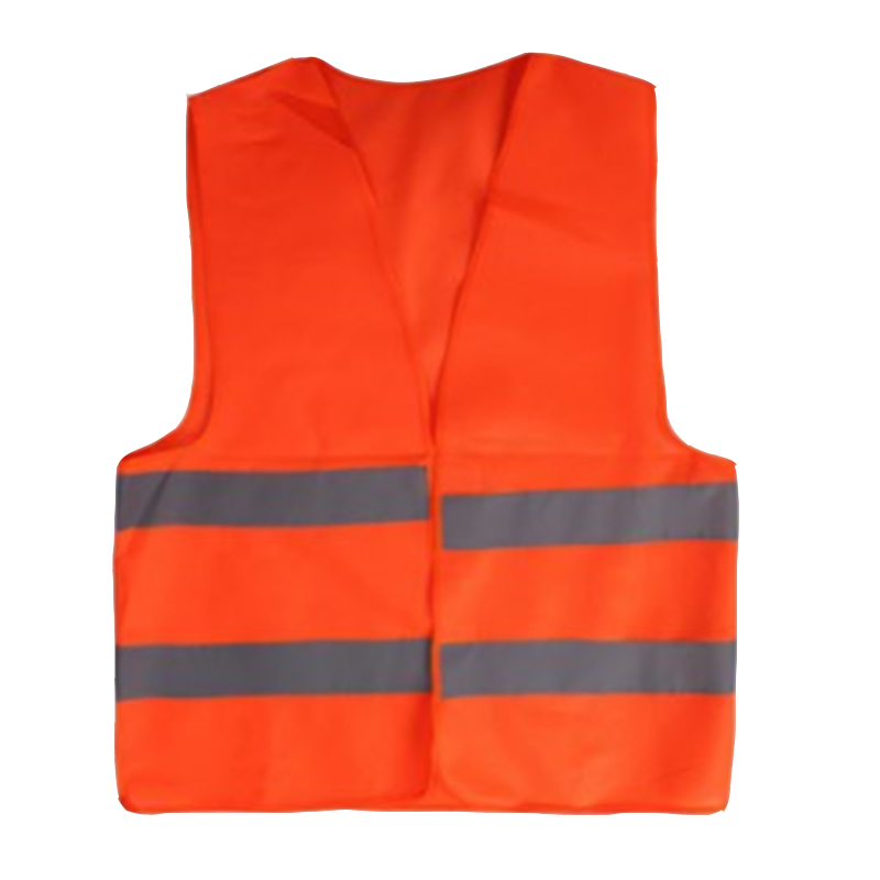 100PC Fluorescent Vest High Visibility Reflective Outdoor Safety Clothing Running Contest Vest Safe Light Reflective Ventilate
