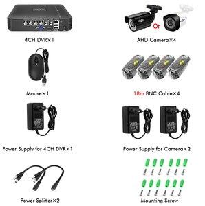 Image 5 - Hiseeu Nhà Camera An Ninh Hệ Thống Giám Sát Video Bộ Camera Quan Sát 4CH 720P 4 Ngoài Trời AHD Camera An Ninh Hệ Thống