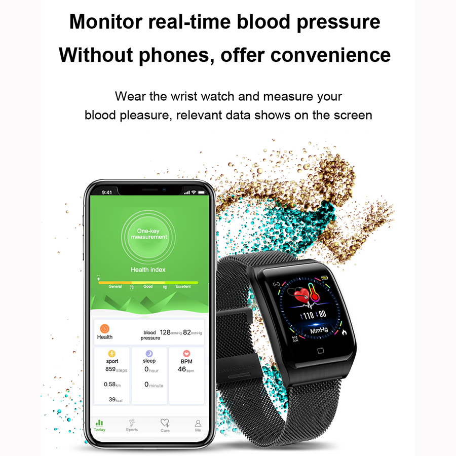 Image 3 - COXRY Multiple Sport Smart Watch Men IOS IP68 Waterproof Heart Rate Smartwatch Blood Pressure Monitor Bluetooth Health Wristband-in Smart Watches from Consumer Electronics