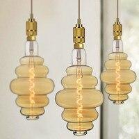 TIANFAN Edison Bulbs Vintage Light Bulb Burger Bulb 6W 220/240V E27 Decorative Light Bulb