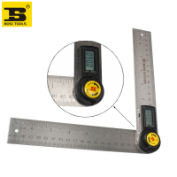 free shipping BOSI 200mm Digital Angle Finder Rule Protractor