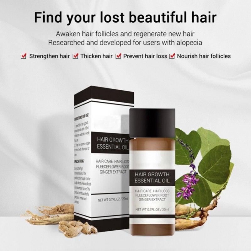 Fast Powerful Hair Growth Essence Produc
