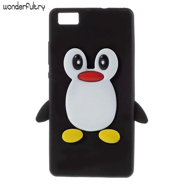 coque huawei p8 lite pingouin