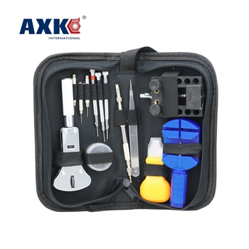 13 Pcs/Set  Watch Repair Tool Kits Set Watch Case Opener Link Spring Bar Remover Screwdriver Tweezer Watchmaker Dedicated Device
