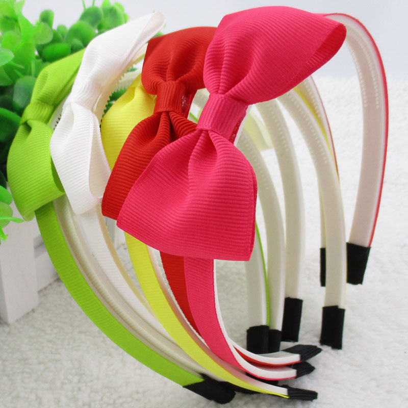 10 Stück Kleines Mädchen Stirnbänder Elastisch Nylon Kinder Damen Haarband Seil