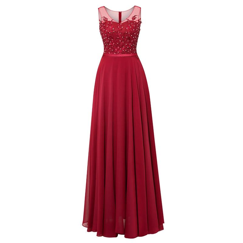 Tanpell μακρύ φόρεμα βραδιού σκουλαρίκια - Ειδικές φορέματα περίπτωσης - Φωτογραφία 5