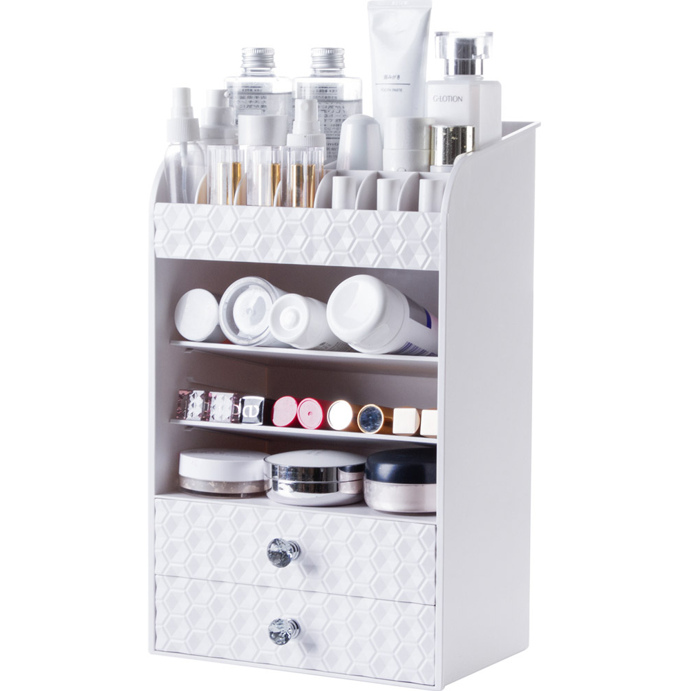 A1 Drawer type cosmetics storage rack desktop lipstick rack multi-layer dressing
