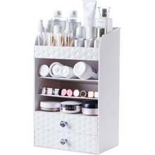 A1 Drawer type cosmetics storage rack desktop lipstick rack