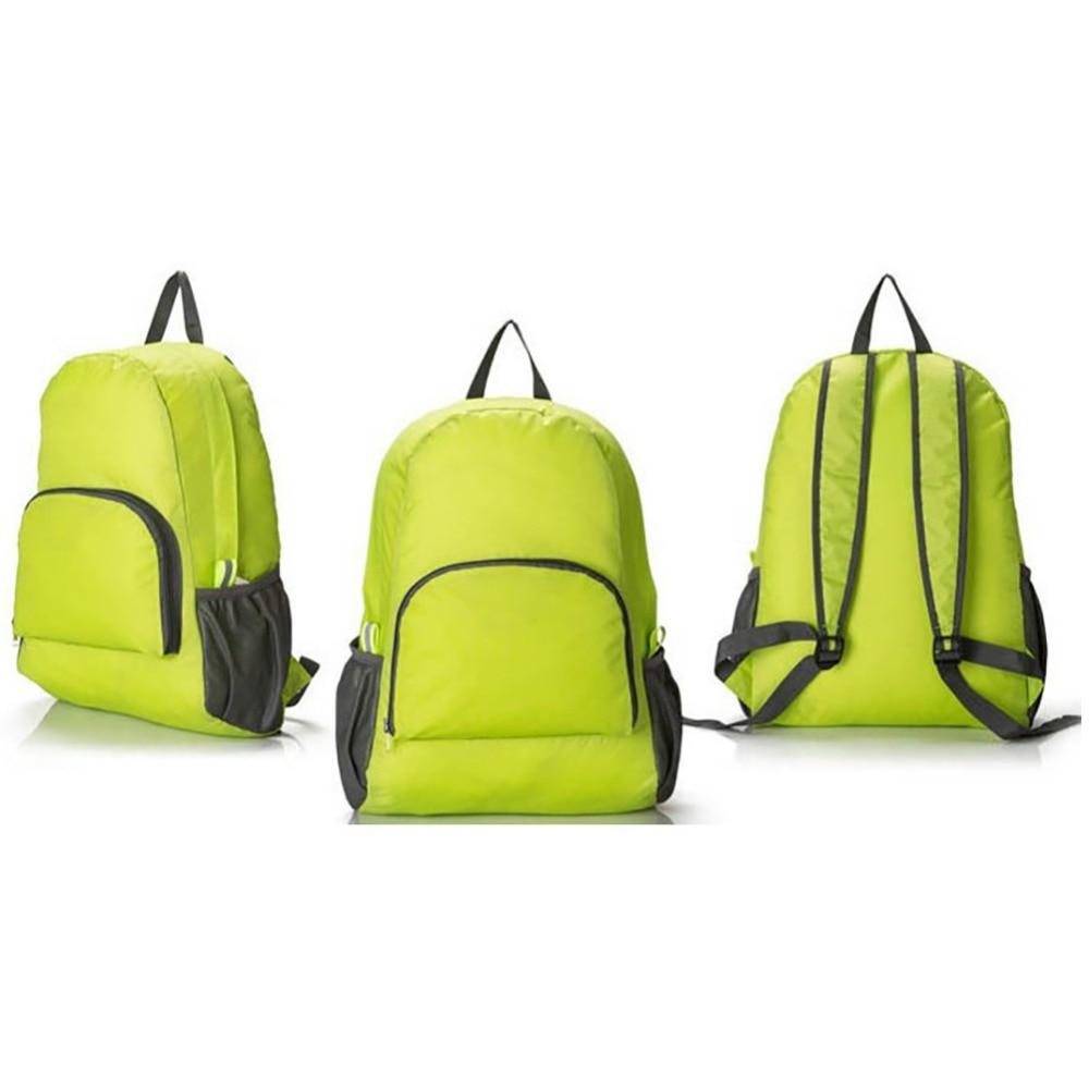Men Women Shopping Camping Hiking Zero Burden Newspaper Nylon Travel Bag Outdoor Sports Backpack