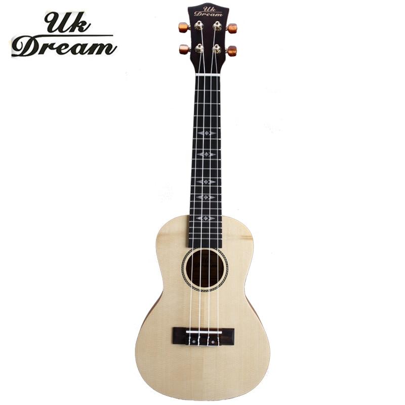 23 inch4 strings acoustic guitar ukulele folk beginners musical instrument guitars mini wood. Black Bedroom Furniture Sets. Home Design Ideas
