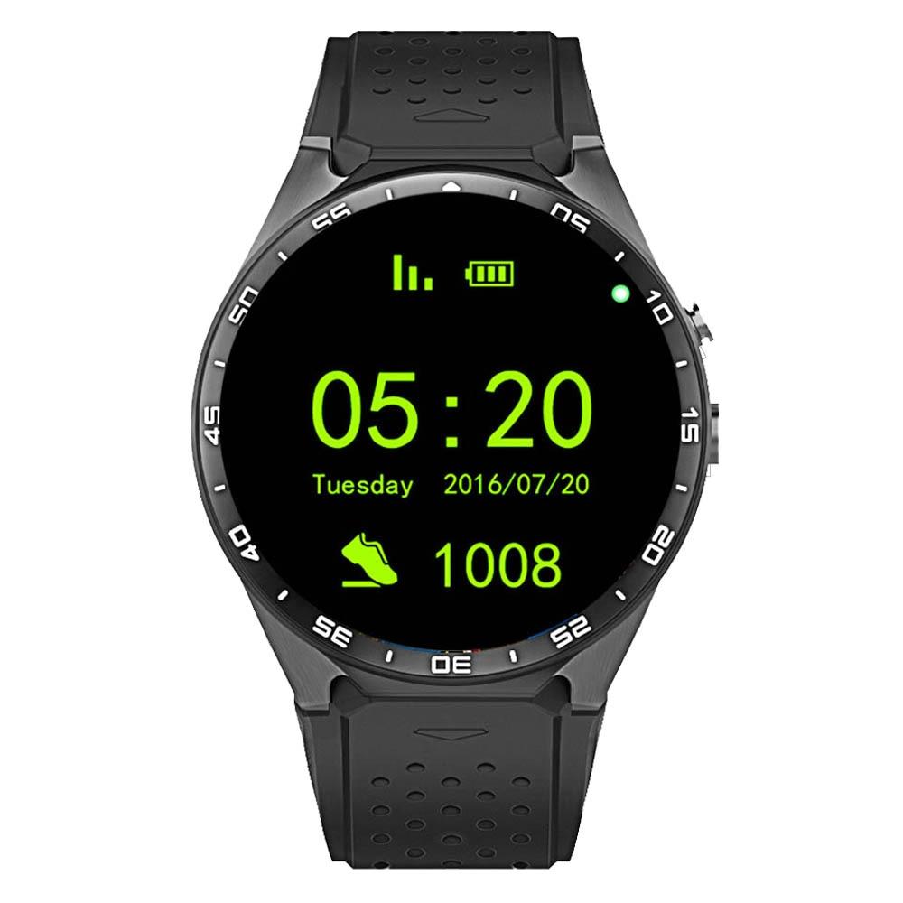 4 Gb Smartwatch Unterstützung Sim Karte 3g Wcdma Kamera Wifi Extrem Effizient In Der WäRmeerhaltung Ruijie Kw88 Android 5.1 Smart Uhr Telefon 1,39 ips Oled Bildschirm 512 Mb Smart Watches