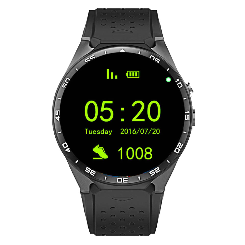 RUIJIE KW88 Android 5 1 Smart Watch Phone 1 39 IPS OLED Screen 512MB