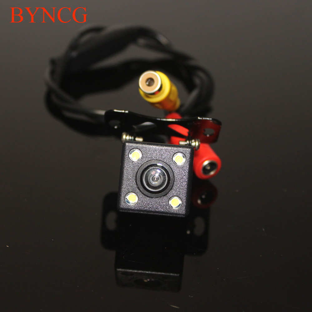 Universal Parking Car Rear View Camera Reverse Revering Backup for Renault Fluence Renault With 4LED WaterProof  Night Vision ccd car reverse camera for ssangyong rexton kyron backup rear review reversing parking kit waterproof nightvision free shipping