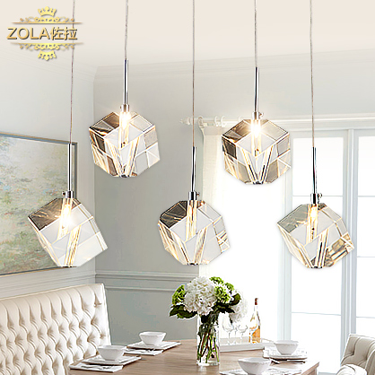 Zora is contracted and Contemporary Fashion Pendant Lamp five restaurant desk lamp lighting PL7245 orient unf5006w
