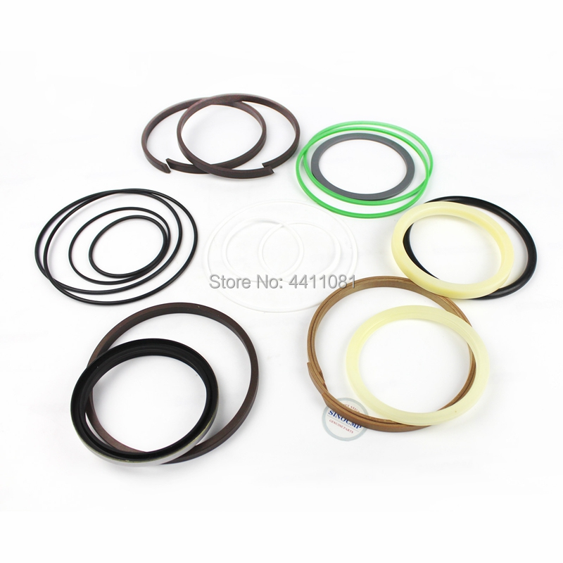 For Komatsu PC220-7 PC220LC-7 Bucket Cylinder Repair Seal Kit 707-99-58060 Excavator Service Gasket, 3 month warranty
