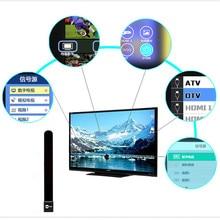 New Clear TV Clé LIVRAISON HDTV TV Numérique Antenne Intérieure Fossé Câble drop shipping 0810